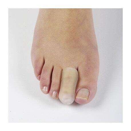 Dedal protector de silicona Separador de dedos del pie