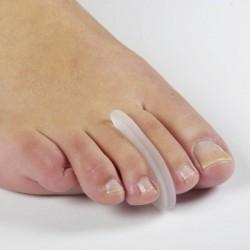 Separador de dedos silicona fino Separador de dedos del pie