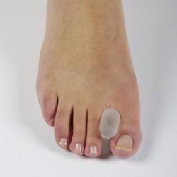 Separador de dedos silicona tipo carrete Separador de dedos del pie
