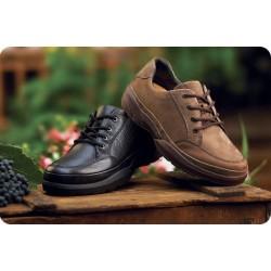 Zapato Justin Nobuck