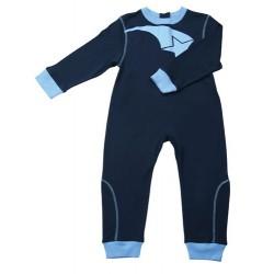 Pijama infantil con cierre trasero