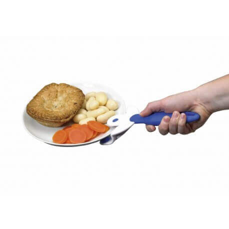 Ayuda para coger platos sin quemarse. Ayuda para temblores en la mano