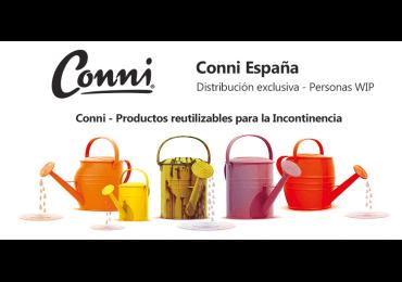 Productos para incontinencia de la marca CONNI